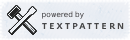 Powered by Textpattern